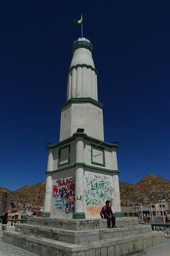 Memorial Faro de Conchupata - Oruro, Bolivia