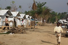 Bahn refugee camp, 50km from the Liberia/Ivory Coast border (DFID - UK Department for International Development) Tags: refugees conflict liberia ivorycoast humanitarianaid ukgovernment departmentforinternationaldevelopment dfid displacedpeople ukaid