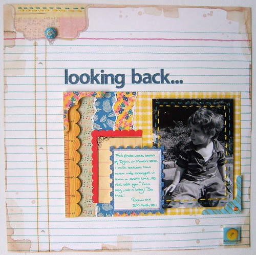 Looking Back-Layout Using Blocking