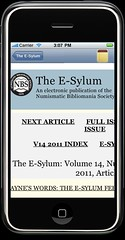 E-Sylum app