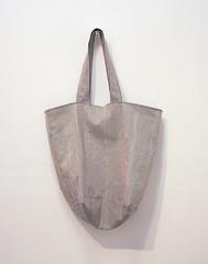 pink stripe bucket tote bag (miyukim26) Tags: pink copyright black bag bucket handmade stripe etsy tote madeit bluecaravan madeinmelbourne miyukimardon northmelbournemarket moncdesign northcotemarket