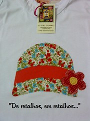 chapeu vintage floral (S!ssi) Tags: tshirt presente regata babylook patchcolagem camisetascustomizadas
