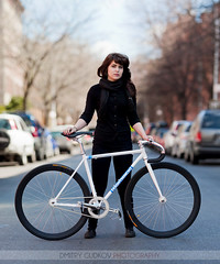 #BikeNYC Portrait: Krys (Dmitry Gudkov) Tags: york portrait woman black girl bike bicycle brooklyn scarf canon cycling cyclist bokeh parkslope style cycle portraiture 5d fixie fixedgear krys new city portrait bikemechanic bicycle bikenyc photography cycle bike 135mm bokeh panorama f2 gudkov chic wwwgudphotocom bicycist dmitry method gudphoto eighthinchscrambler brenizer commuter