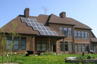 East Pembroke, NY residential solar installation