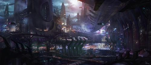 Prey 2 City Concept