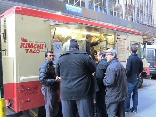 kimchi taco truck exterior