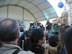 Rom 26.03.2011: Kundgebung, Rede Laura