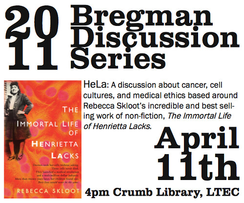 Henrietta Lacks Event