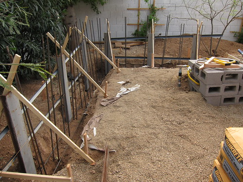 Footer before Concrete