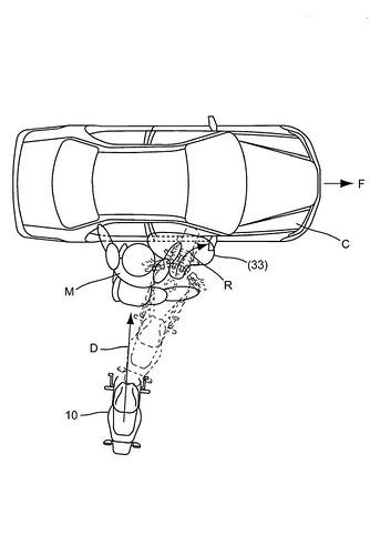 Honda zračni jastuci patent