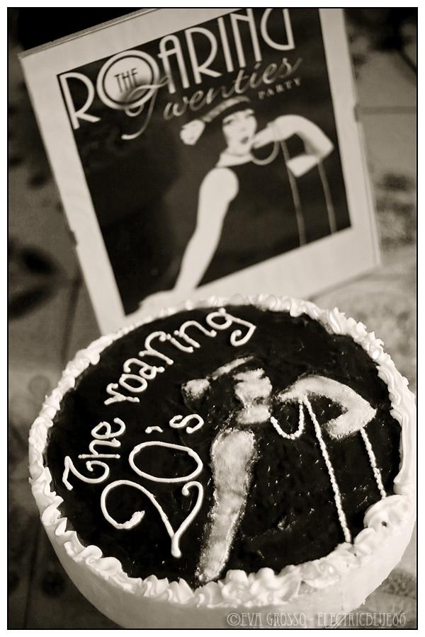 The Roaring Twenties cake