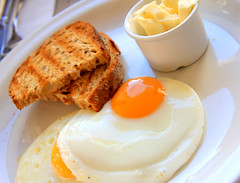 Breakfast! (Andrea Kennard) Tags: people food white macro english cooking kitchen yellow vertical closeup cheese breakfast bread recipe lunch pepper cuisine one pieces open cut eating no background toast egg salt hard cress cook plate fork fresh butter meal vegetarian brunch british buttered sliced cooked dairy parsley product fried boiled isolated slices seasoning yolk toasted ingredient runny poached