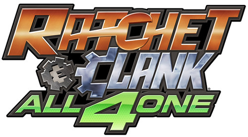 Ratchet & Clank: All 4 One logo