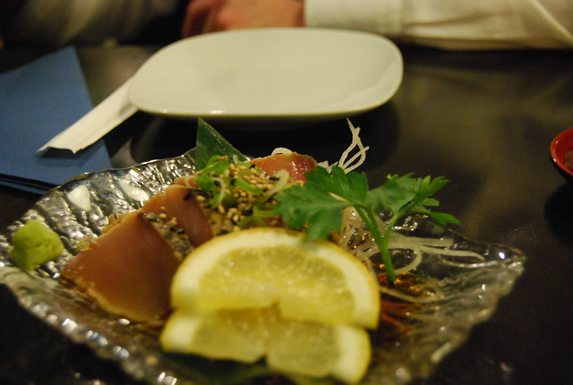Maguro tataki del Wasabi Barcelona
