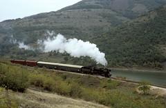 15 215  Kardzali  12.10.05 (w. + h. brutzer) Tags: analog train nikon eisenbahn railway zug 15 trains locomotive dampflok lokomotive bulgarien eisenbahnen bdz dampfloks kardzali webru