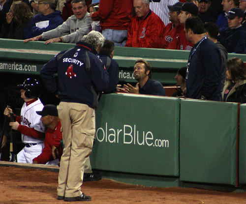 """Sir, please stop bothering Mr. Francona."""