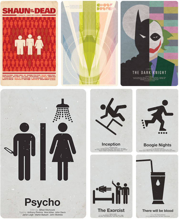 Modern Movie Posters (3)