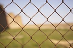 No entry... (Trapac) Tags: barcelona castle fence spring spain nikon cctv catalonia espana catalunya noentry barriers locked montjuic defocus nikkor3570mm montjuiccastle castelldemontjuc d700 nikond700 zonavideovigilada videosurveillancezone