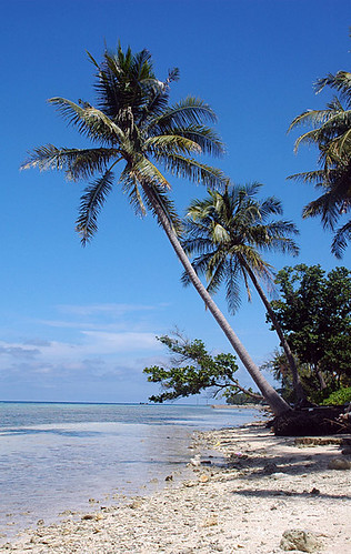 Tidung Island beach