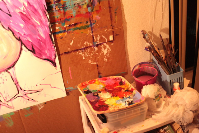 Painting Soothes My Soul
