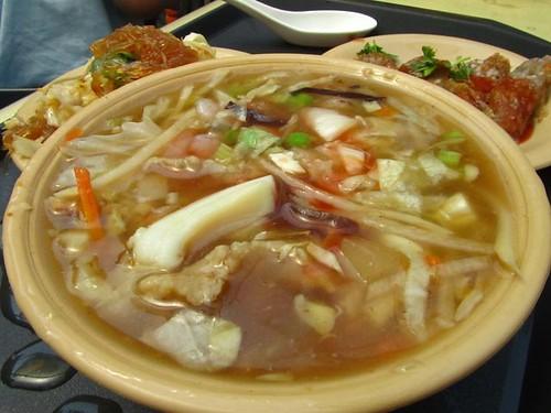 2011台北花博-午餐-菁泉商店-翡翠海鮮羹.jpg