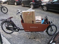 Bakfiets at work