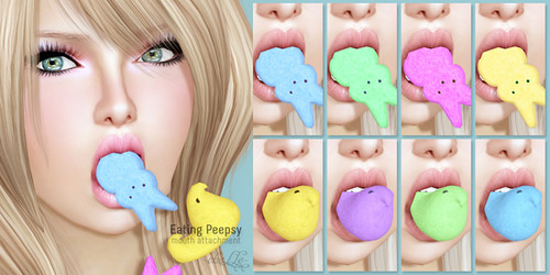 cheLLe - Eating Peepsy
