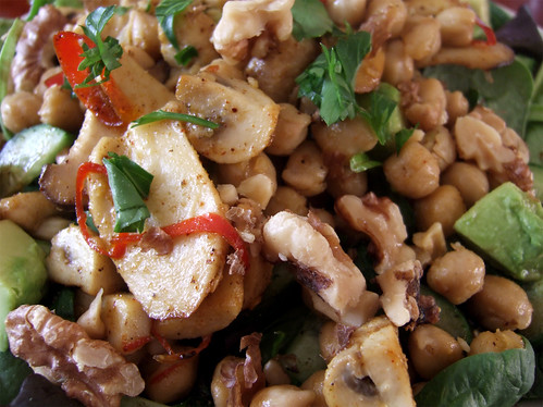 warm chickpea salad_02