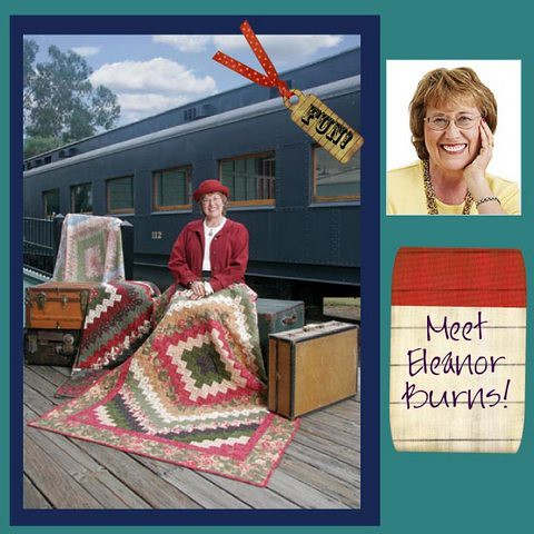 Guest Eleanor Burns of Quilt in a Day