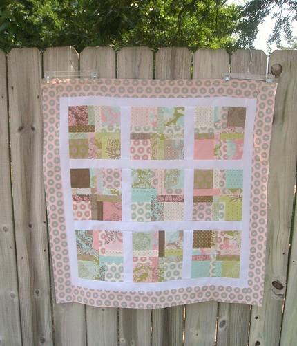 Hushabye baby quilt
