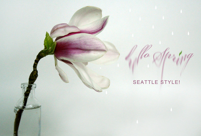 Hello spring .. seattle style ;)
