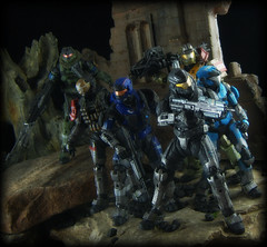 McFarlane Halo Reach - Noble Team (Ed Speir IV) Tags: game video team kat military halo xbox jorge microsoft scifi videogame carter reach six emile jun spartan noble unit covenant mcfarlane spartans unsc nobleteam noblesix