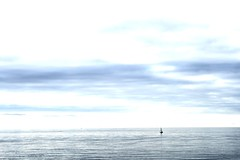 Sea, Sky, Boat (hristina.hristova) Tags: ocean sea sky boat sailing sailingboat seasky flickraward