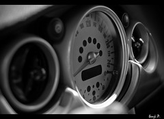 Mini Interior Details (Benji P. Photo) Tags: white black 35mm john nikon interior details mini s cooper works f18 hdr benji jcw d90 bpauto