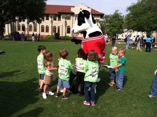 Appearance from the Chik-Fil-A Cow