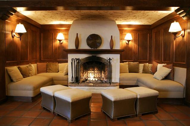 Fireplace @ Rancho Bernardo Inn | San Diego, CA