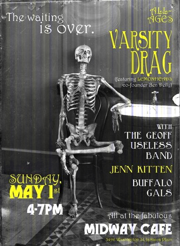 Varsity Drag All-Ages Show, Midway Cafe, May 1