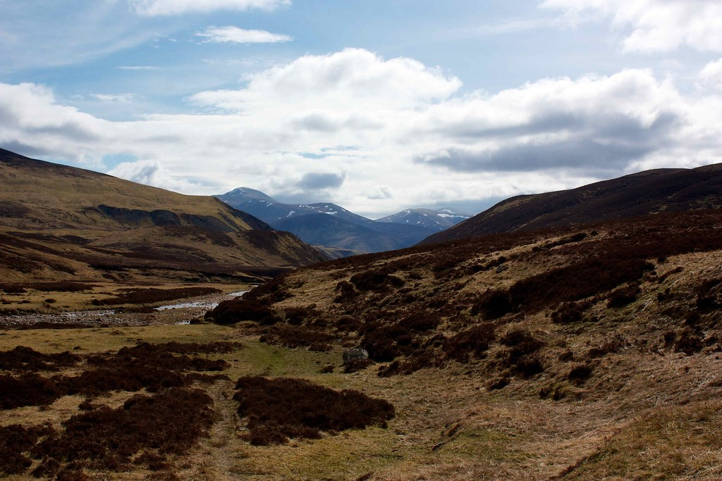 South to Beinn a' Ghlo