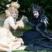 Elf Fantasy Fair 2011 Edition Haarzuilens, Queen of Harbinger death, Jolien-Rosanne and Diana
