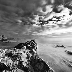 Isle of Seil clouds Mono (Rob McBride) Tags: trees winter light sea sky snow mountains water clouds sunrise reflections river landscape dawn scotland highlands stream glen burn oban loch moor orchy coe glenetive watefall glenorchy rannoch seil stobdearg argyllbute isleofseil lochnahachlaise robmcbride buchallieetivemor