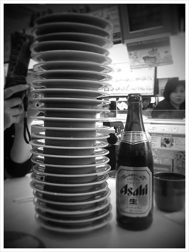25 plates of sushi!