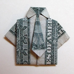 Dollar Shirt and Tie