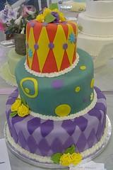 OSSAS 2006 (sugar.art.cakes) Tags: show cake sugar fondant 3tier ossas