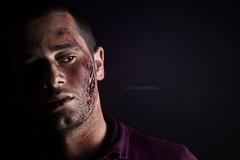 Fear (Alexander_br) Tags: portrait darkness fear makeup horror