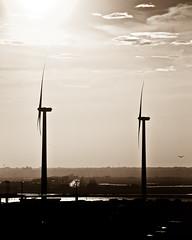 sunset, wind borne (nosha) Tags: ocean summer usa windmill beautiful beauty newjersey nikon power wind apocalypse nj atlantic shore atlanticcity jersey april ac jerseyshore 2009 windpower lightroom 18200mm nosha 18200mmf3556 nikoncorporation nikond300 summer2009 12000secatf63