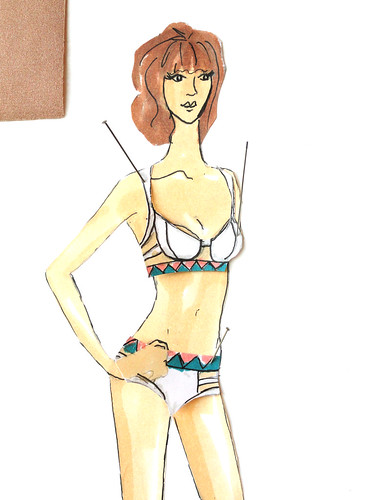 My swimwear designs!