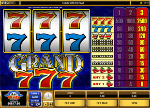 Grand 7s™ Slot Machine Game to Play Free in Microgamings Online Casinos