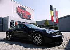 SL 65 AMG Black Series (Niklas Emmerich Photography) Tags: black germany mercedes benz hp stuttgart sl series 65 amg v12 biturbo 2011 671 worldcars affalterbach