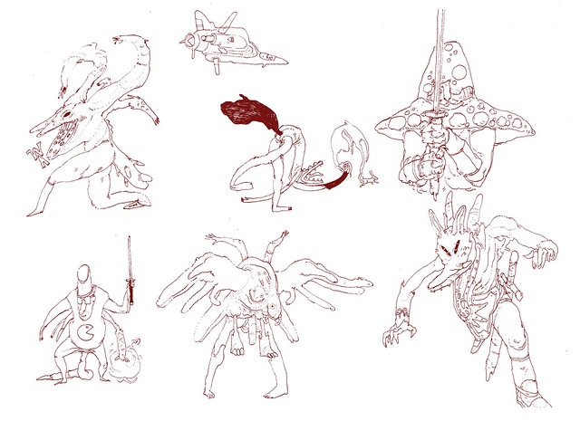 Automatic nib Sketchs