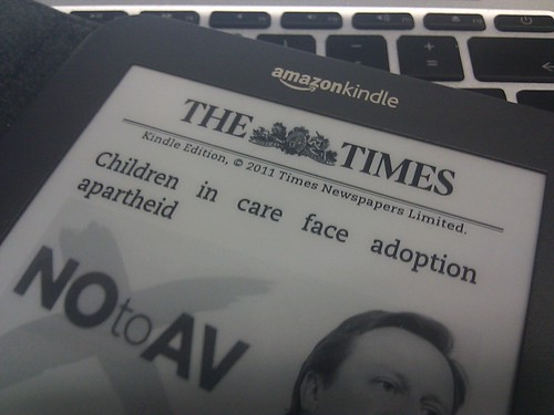 Times on Kindle